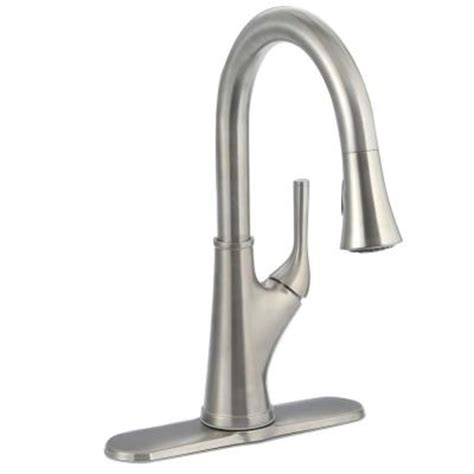 pfister kitchen faucet pfister cantara single handle pull sprayer kitchen