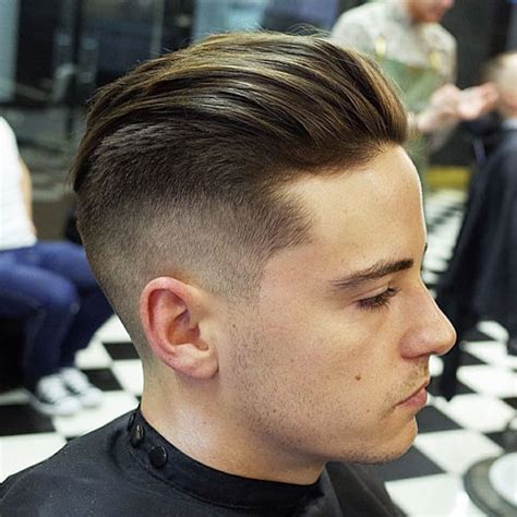 mid top fade mid fade haircut men s hairstyles haircuts 2017