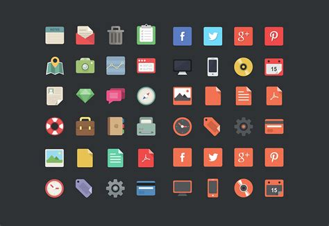 Top Free Search 40 Best Free Icon Sets 2015 Webdesigner Depot