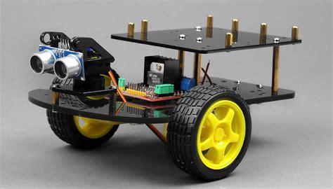 arduino tutorial rc car remote control ultrasonic ranging smart car kit for arduino