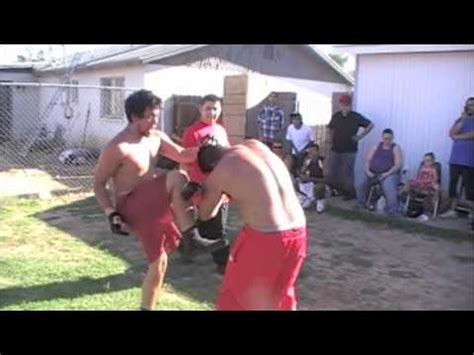 backyard mma fights raymond vs jose iii round 3 backyard mma fighting youtube