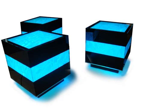 cool things to buy for your room led furniture turns your living room into a club vip section