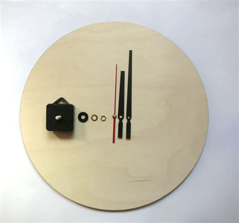 Unfinished Clock by Clock Kit Diy Wall Clock Kit 16 Quot 40cm Diy Clock Wood