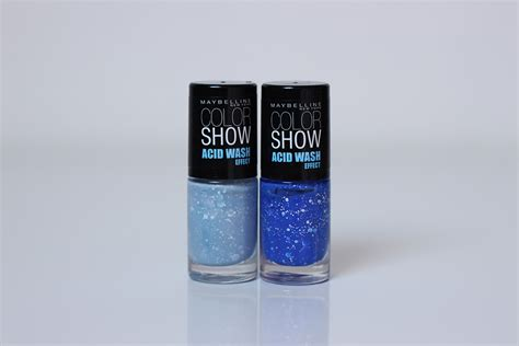 acid wash color swatches maybelline color show acid wash effect