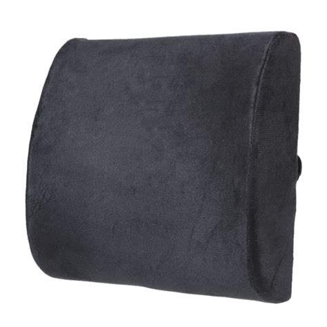 high resilience memory foam lumbar back support cushion