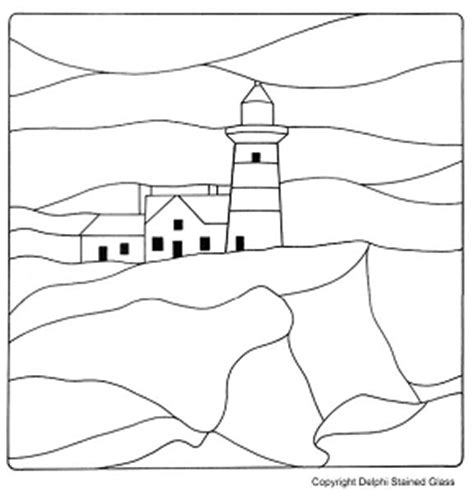 stained glass pattern maker online lighthouse stained glass patterns 171 free patterns