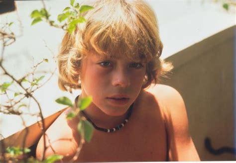 10yo boy man leif garrett 4 x 6 real photo young boy shirtless