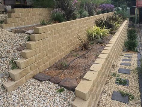Retaining Wall Products by Bink Pavers Bink Cement Products Paving Masonry Blocks Pre