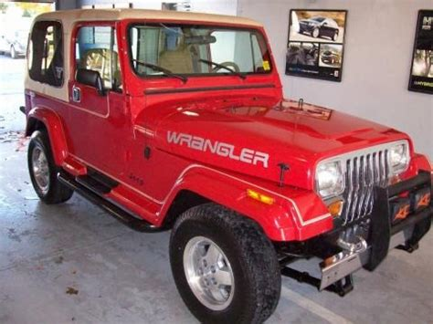 Jeep Laredo Price 1989 Jeep Wrangler Laredo 4x4 Data Info And Specs