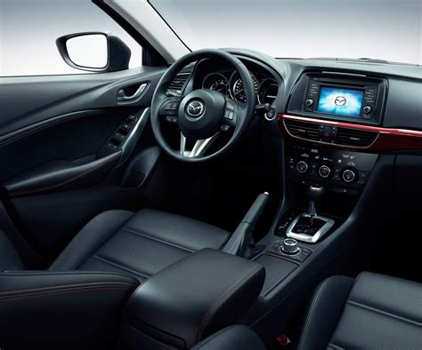 mazda interior 2017 mazda 6 release date specs and pictures