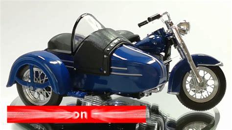 Maisto 1 18 Harley Davidson 1952 Fl Hydra Glide Sidecar Motorcycle Bik maisto harley davidson fl hydra glide mit beiwagen 1952