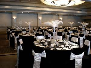 black and white wedding centerpieces for tables wedding