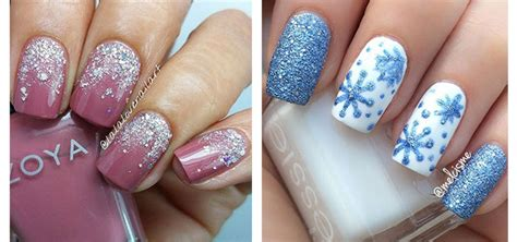 15 winter gel nail art designs ideas amp stickers 2016
