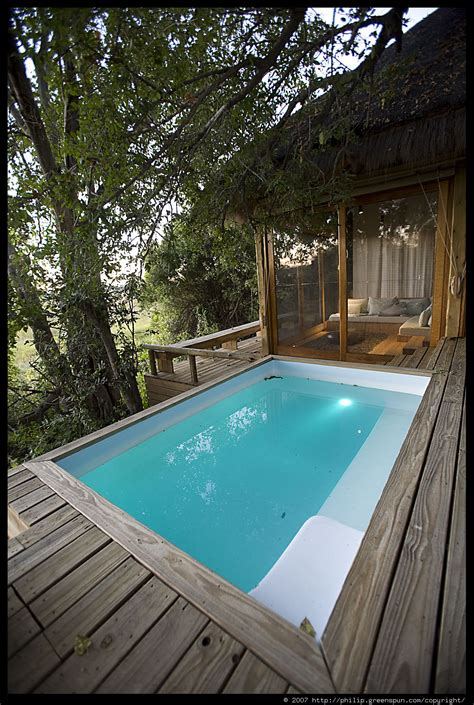 Plunge Pool Room photograph by philip greenspun room plunge pool