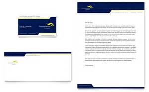 Microsoft Business Letterhead Templates Global Communications Company Business Card Amp Letterhead