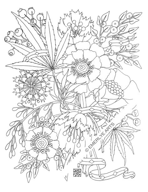 weed coloring pages for adults coloring pages