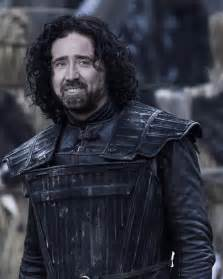 Going Blind In Right Eye Game Of Thrones See Nicolas Cage As Every Character
