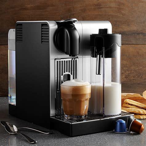 nespresso delonghi lattissima pro espresso maker bloomingdale s