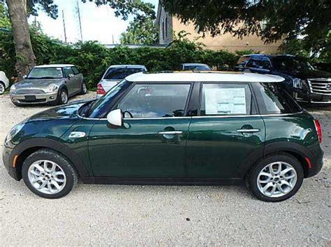 4 Door Mini Automatic by Cooper S 4 Door New Sedan Automatic Gasoline 2 0l 4 Cyl