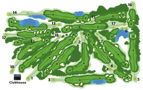 golf course layout design island view golf club course info