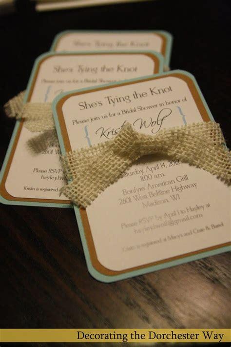 25 best ideas about burlap wedding invitations on