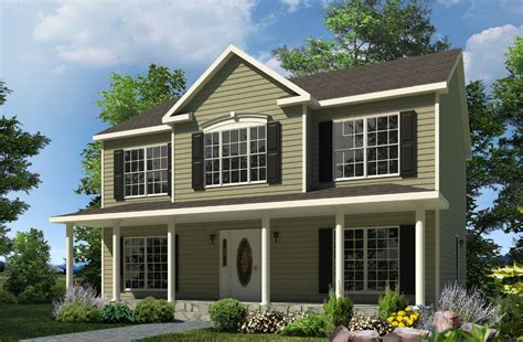 2 Story Houses Morris Two Story Style Modular Homes