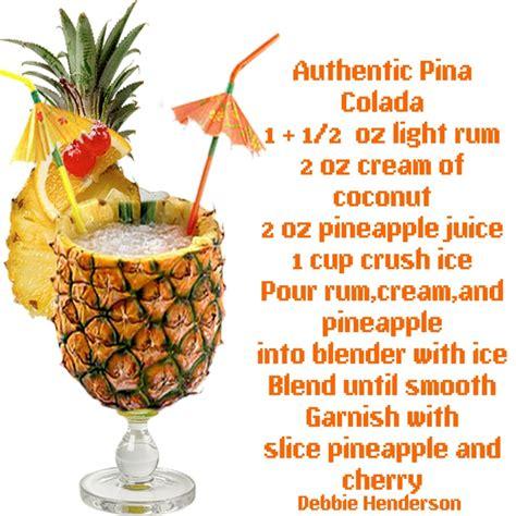 Tfa Pina Colada 1oz authentic pina colada recipe