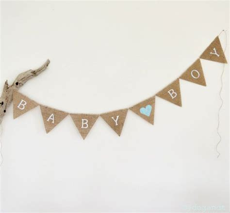 Bunting Flag Diy Banner Baby Shower Banner Bridal Shower Banner Req baby shower bunting boy banner flags blue decoration by
