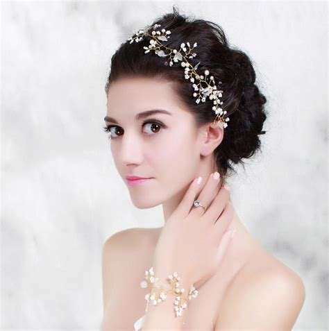 Wedding Hair Accessories Aliexpress by Bridal Headwear Hair Accessories Wedding Pearl