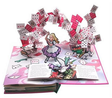 i you a pop up book books alices adventures in a pop up children pop up