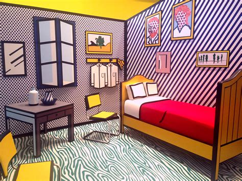 Bedroom At Arles Medium Quot Pop For The Roy Lichtenstein In L A Quot At Skirball