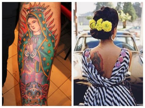 Friday Open Thread What S The Story Behind Your Tattoo Bob Tattoos Our Guadalupe