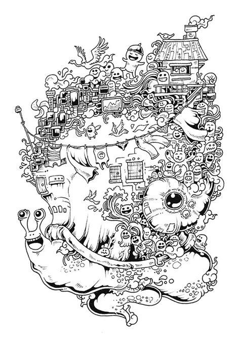 libro doodle invasion zifflins coloring doodle invasion un nouveau livre de coloriage pour les adultes image livre de coloriage