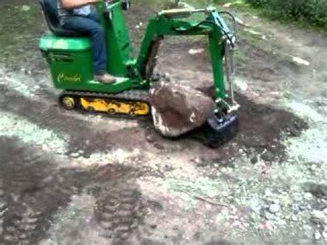 escavatore da giardino mini escavatore