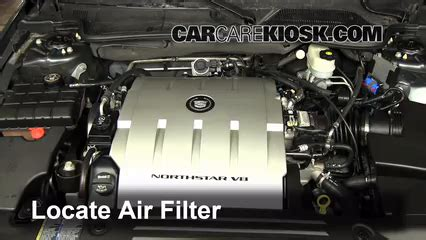 how do cars engines work 2009 cadillac dts spare parts catalogs air filter how to 2006 2011 cadillac dts 2009 cadillac dts platinum 4 6l v8