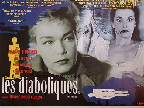Diabolique 1955 Film Les Diaboliques The Fiends Original Vintage Film Poster Original Poster Vintage Film And