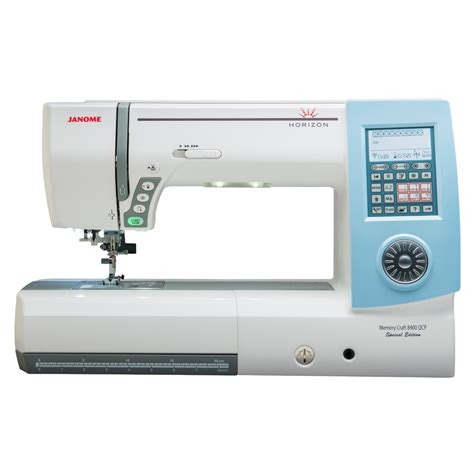 Janome Memory Craft janome memory craft horizon 8900qcp special edition sewing machine sew essential