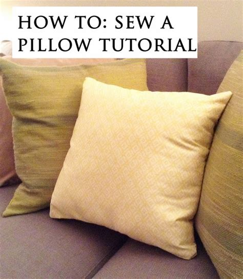 Pillow To Post Meaning by The Crafty Novice Diy Sew Decorative Pillow
