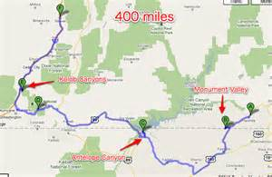 Google Maps Utah by Day 4 Monument Valley Antelope Canyon And Kolob Canyons