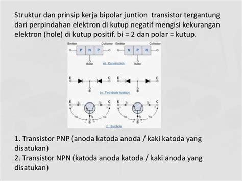 kegunaan transistor bjt transistor