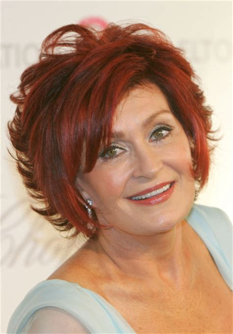 back view of sharon osbourne haircut sharon osbourne hairstyle back view