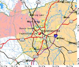 map of fayetteville carolina fayetteville nc map