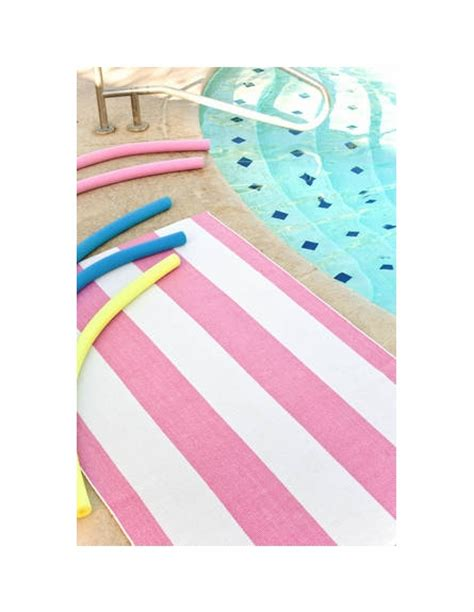 pink and white striped rug yacht stripe woven cotton rug in pink and white by dash albert