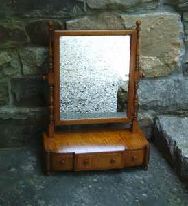 Mirror With Drawer by 7524 Tiger Maple Dresser Mirror With Drawers C1900 For