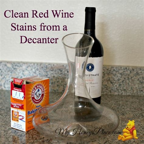 How To Clean Wine From by Clean Wine Stains From A Decanter Honeys Place