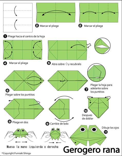 Rana Origami - origami gerogero rana
