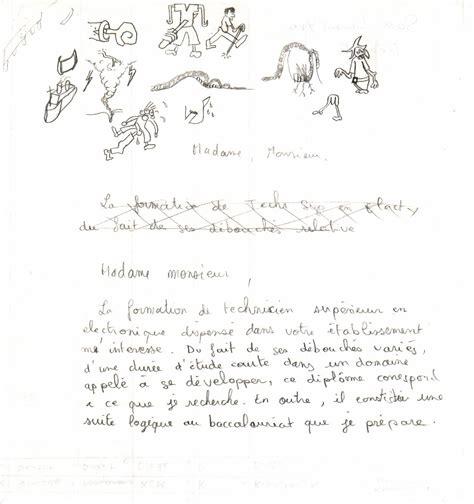 Exemple Lettre De Motivation Classe Européenne Anglais Lettre De Motivation 171 S 233 Jour Linguistique
