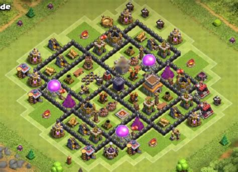 10 best coc town hall th8 farming bases with bomb tower 2016 10 best coc town hall th8 farming bases with bomb tower