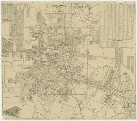 houston map by wards wards of houston