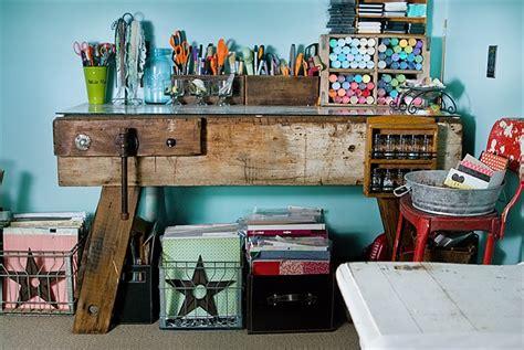 vintage craft room craft room vintage style